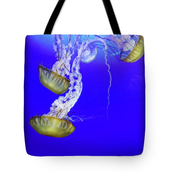 Tote Bag featuring the photograph Jellys by Bob Cournoyer