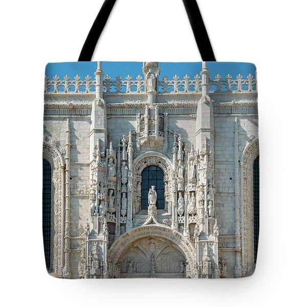 Jeronimos Monastery, Portugal Tote Bag