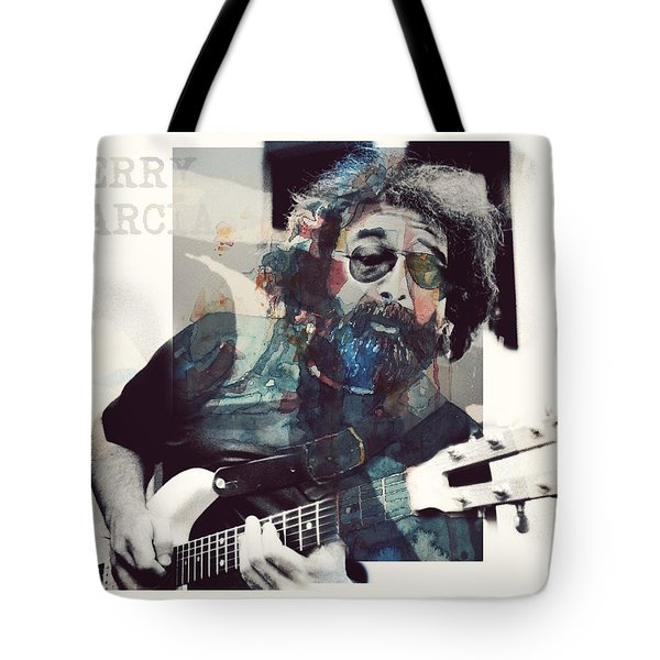 Jerry Garcia - Retro  Tote Bag