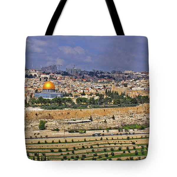 Jerusalem, Israel - Old City Walls Tote Bag