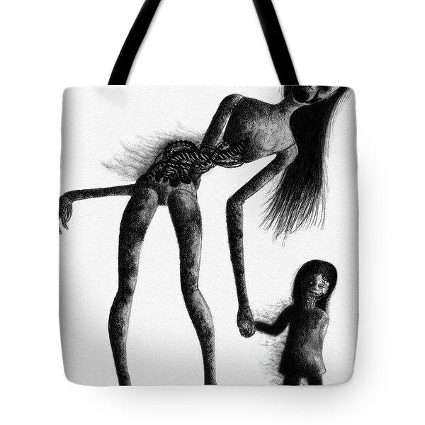 Jessica And Her Broken - Artwork Tote Bag