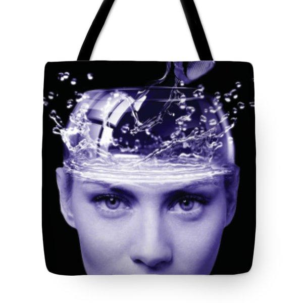 Jestful Water Drops  Tote Bag