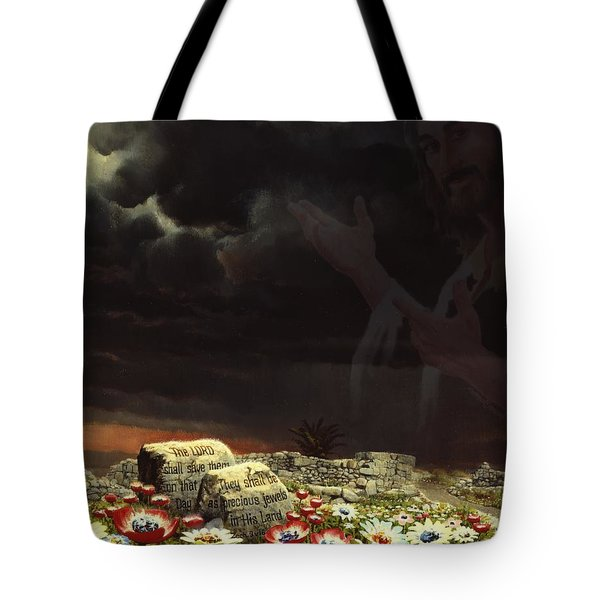 Jesus And His Jewels Tote Bag