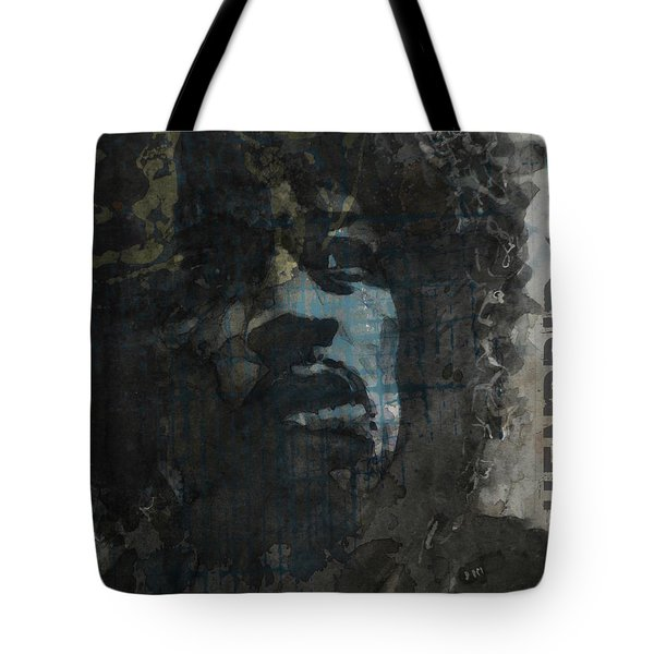 Jimi Hendrix - Retro Series Tote Bag