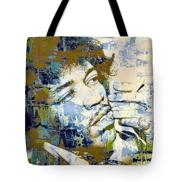 Jimi Soul Tote Bag