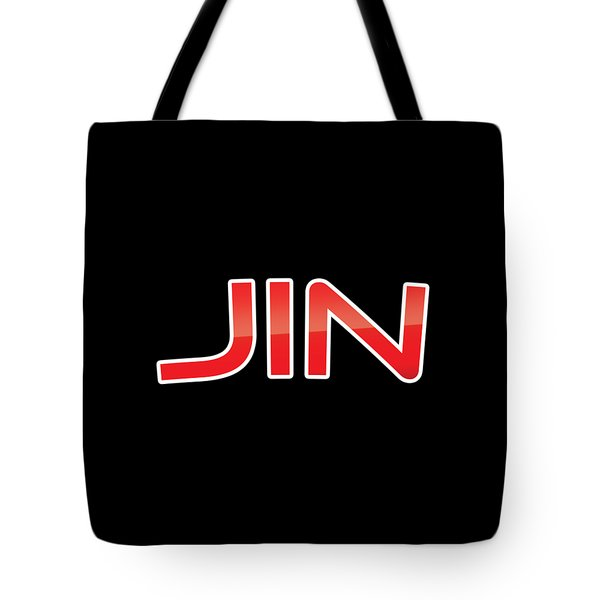 Tote Bag featuring the digital art Jin by TintoDesigns