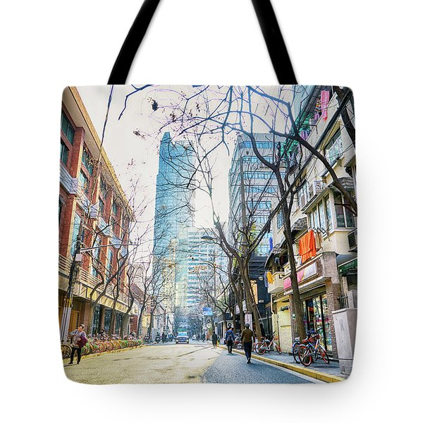 Jing An Tote Bag