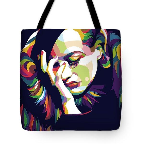 Joan Crawford Tote Bag