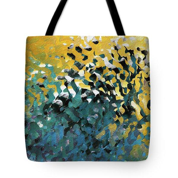 John 8 12. The Light Of Life Tote Bag