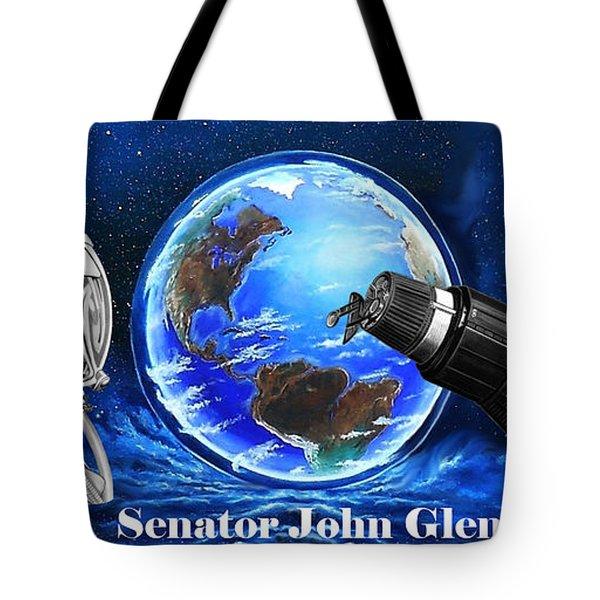 John Glenn Tote Bag