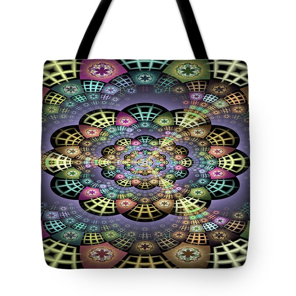 Tote Bag featuring the digital art John by Missy Gainer