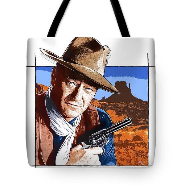 John Wayne 17oct18 Tote Bag