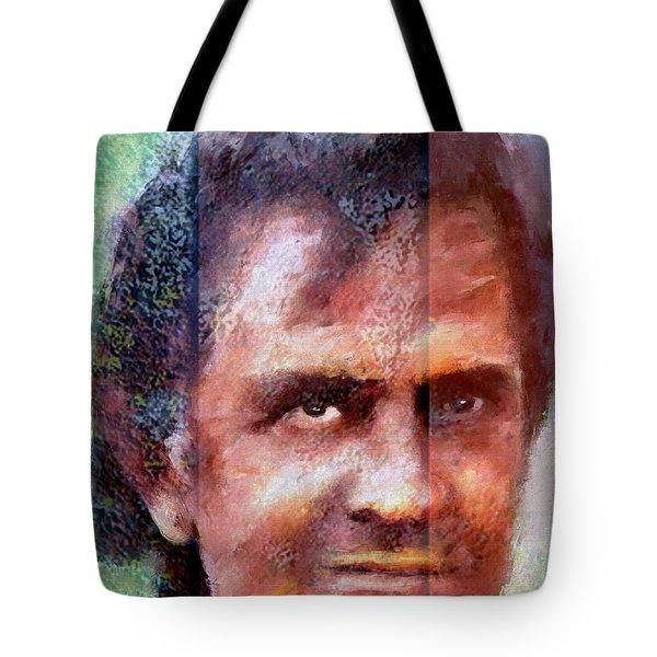 Johnny Cash Artwork Tote Bag