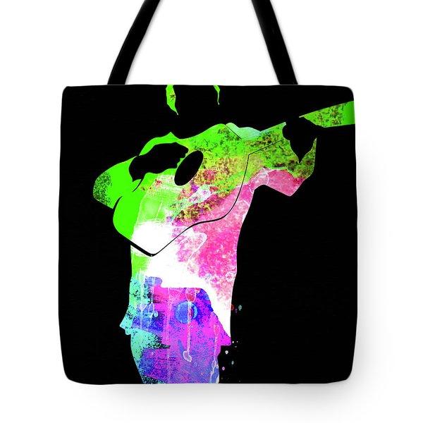 Johnny Watercolor II Tote Bag