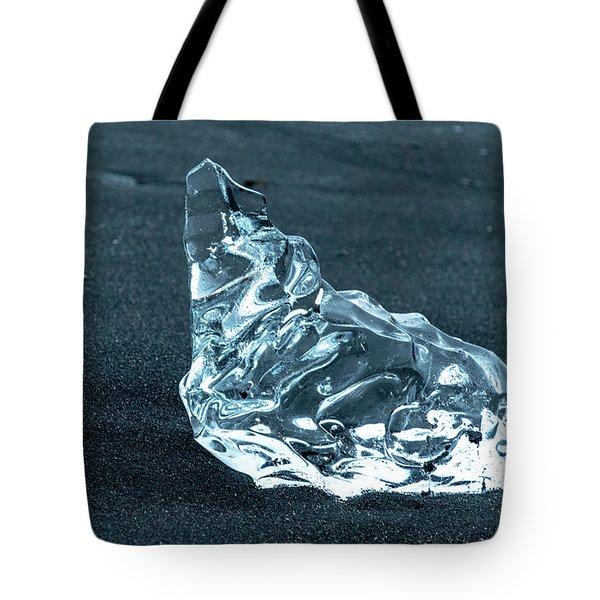 Jokulsarlon Diamond Tote Bag
