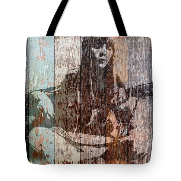 Joni Mitchell Tote Bag