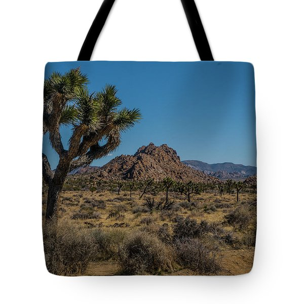 Tote Bag featuring the photograph Joshua Tree Forest by Matthew Irvin