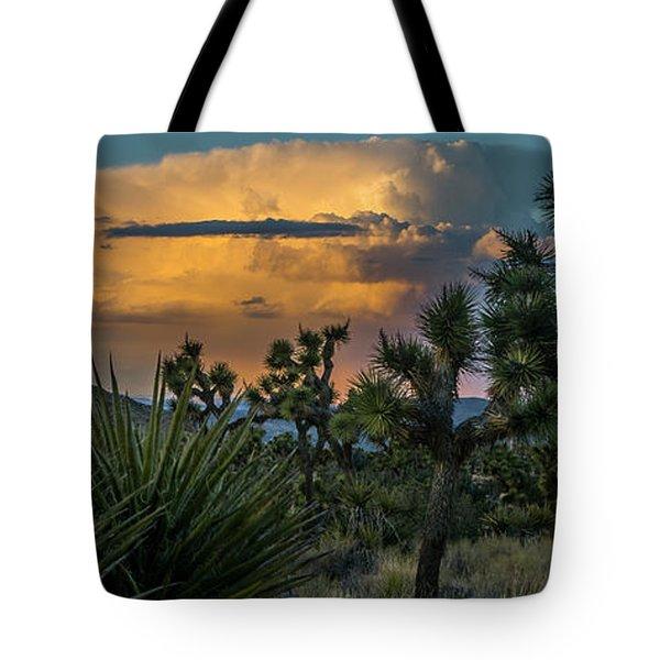 Joshua Tree Thunder Tote Bag