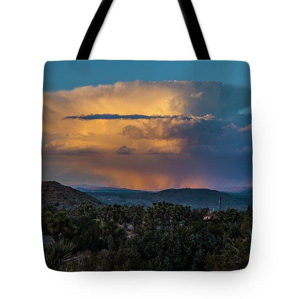 Joshua Tree Thunderhead Tote Bag