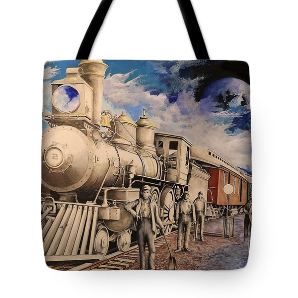 Journey Through The Mists Of Time Tote Bag