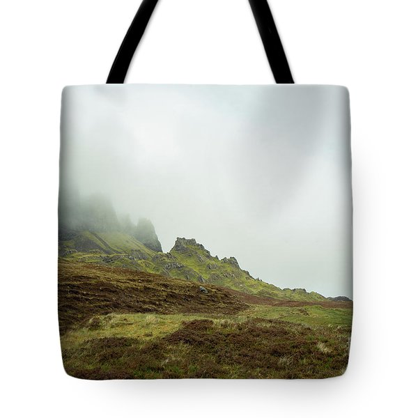 Journey To The Quiraing Tote Bag