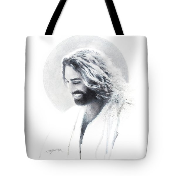 Joy Of The Lord Vignette Tote Bag