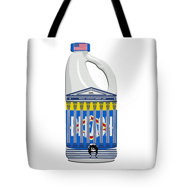Judicial Breach  Tote Bag