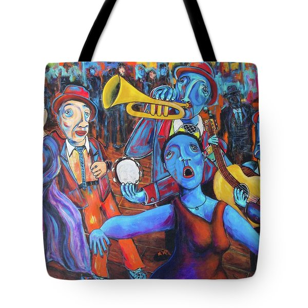 Juke Joint Tote Bag