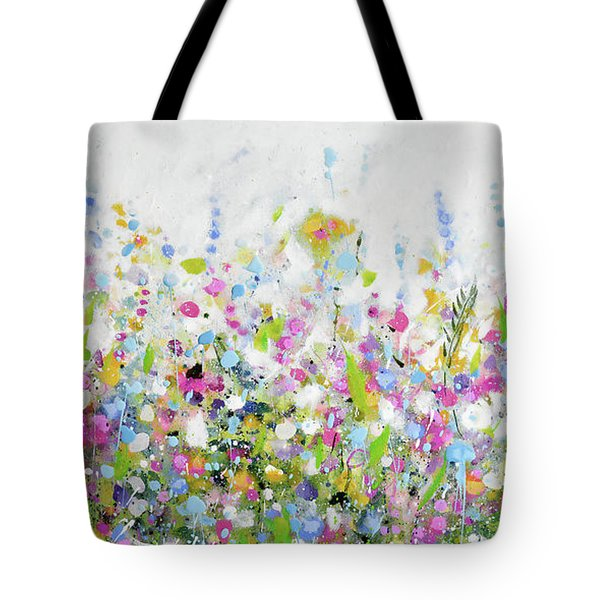 June Bloom Tote Bag