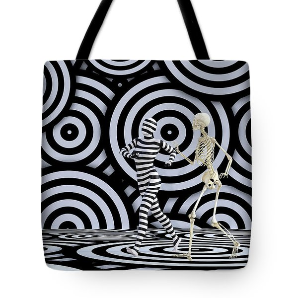 Just A Moment Please Tote Bag