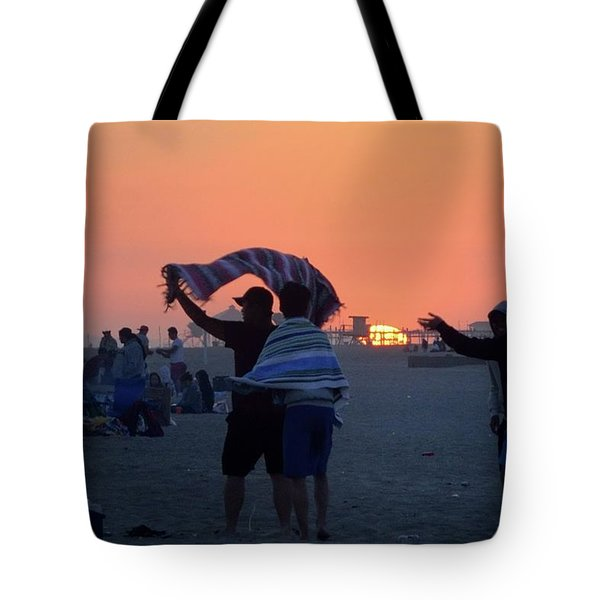Tote Bag featuring the photograph Just Another California Sunset by Ron Cline