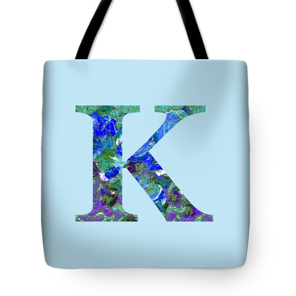 Tote Bag featuring the digital art K 2019 Collection by Corinne Carroll