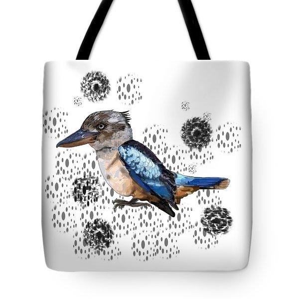 K Is For Kookaburra Tote Bag