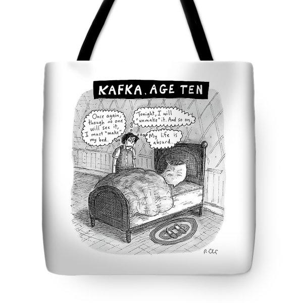 Kafka Age Ten Tote Bag