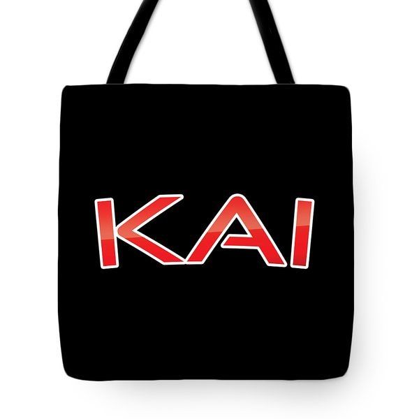 Tote Bag featuring the digital art Kai by TintoDesigns