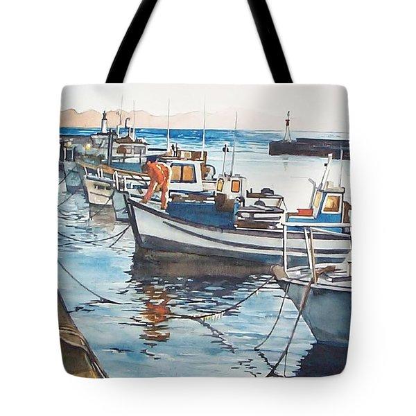 Kalk Bay Morning Tote Bag
