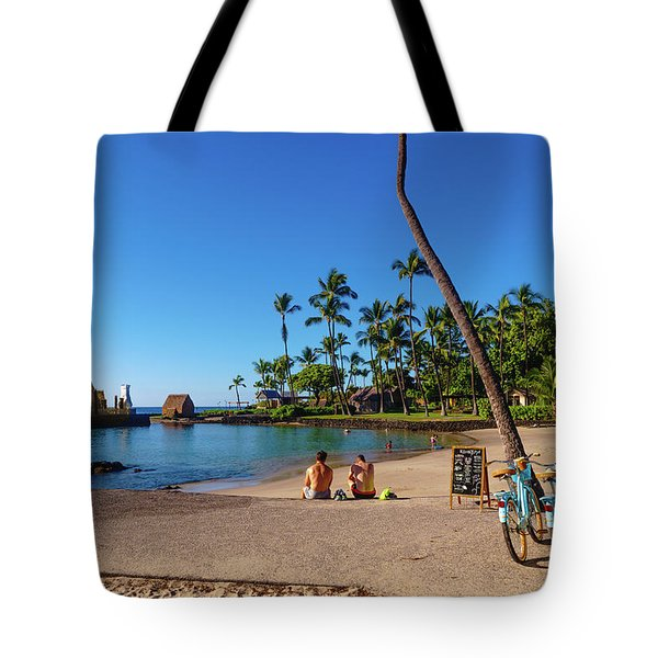 Kamakahonu Beach Tote Bag