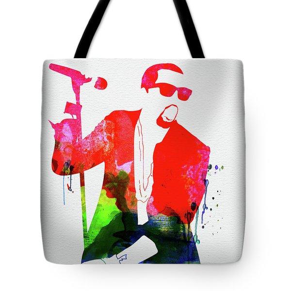 Kanye Watercolor Tote Bag