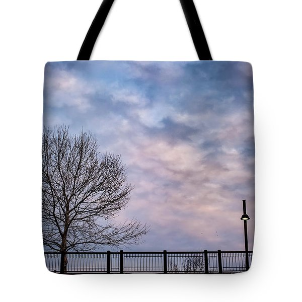 Kaw Point Silhouettes Tote Bag