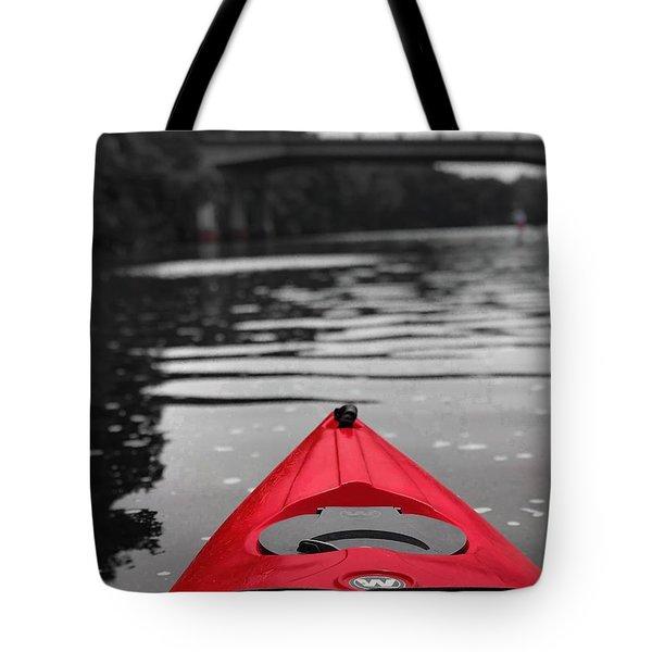 Kayaking The Occoquan Tote Bag