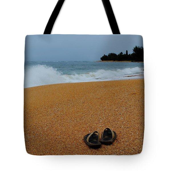 Ke'e Beach Tote Bag