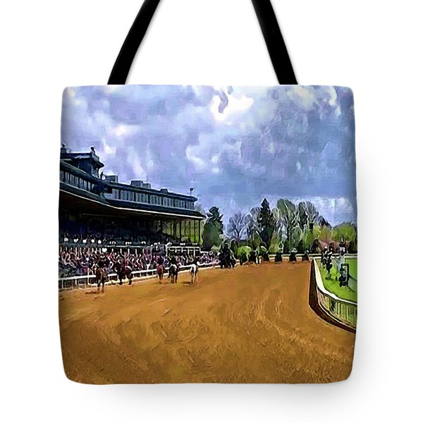 Keeneland The Stretch Tote Bag