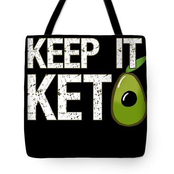Keep It Keto Tote Bag