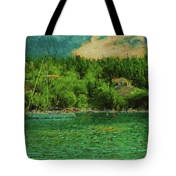 Tote Bag featuring the photograph Keeping An Eye On The Big Picture by Leigh Kemp