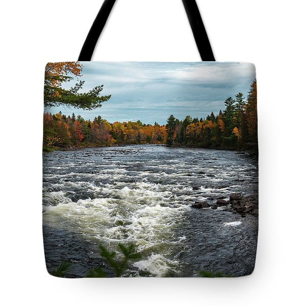 Tote Bag featuring the photograph Kennebec River by Rick Hartigan
