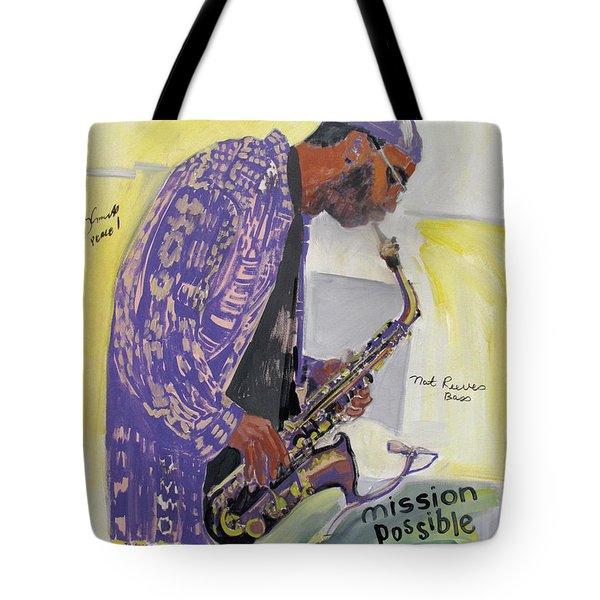 Kenny Garrett Tote Bag