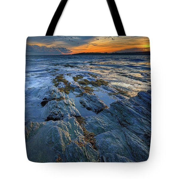 Kettle Cove Evening Tote Bag