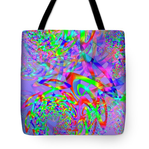 Tote Bag featuring the digital art Key Remix One by Vitaly Mishurovsky