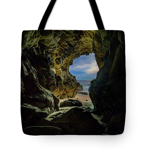 Keyhole Cave In Malibu Tote Bag