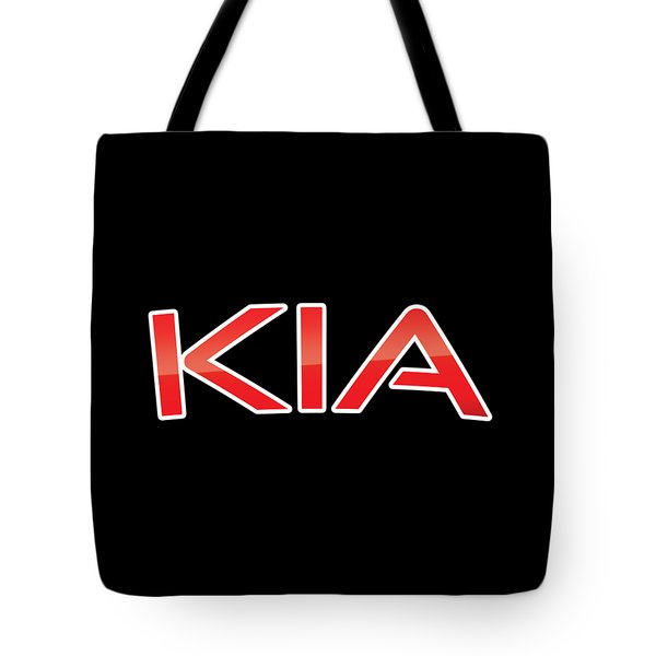 Tote Bag featuring the digital art Kia by TintoDesigns